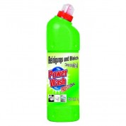 POWER WASH 750 ml Żel do WC zielony